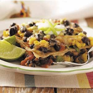 Meatless Mexican Lasagna Recipe