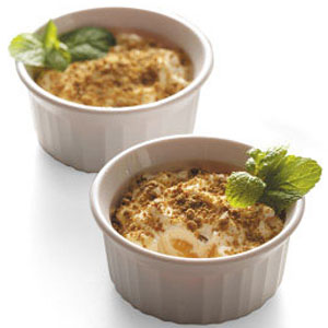 Peaches 'n' Cream Cups Recipe