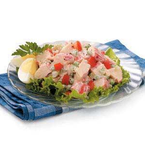 Mock Crab Louis Salad Recipe