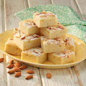 Almond Snack Cake Recipe