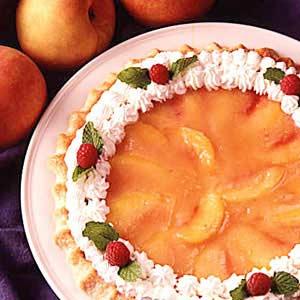 Glazed Peach Pie Recipe