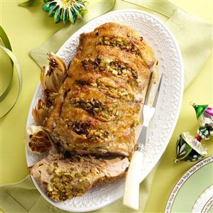 Mom's Garlic Pork Roast Recipe