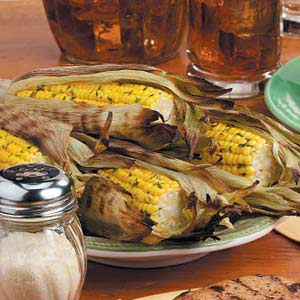Grilled Corn in Husks Recipe