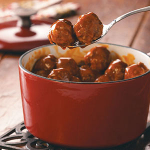 Hearty Sweet and Tangy Meatballs Recipe