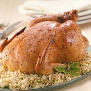 Honey-Lime Roasted Chicken Recipe