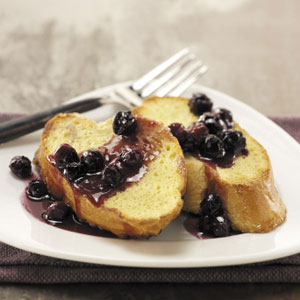Lighter Blueberry French Toast Recipe
