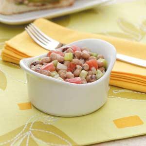 Creamy Black-Eyed Pea Salad Recipe