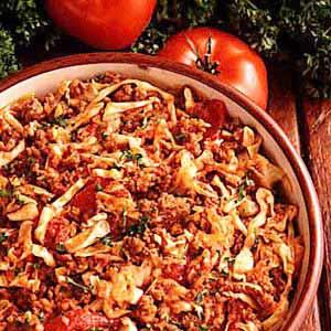 Cabbage Goulash Recipe
