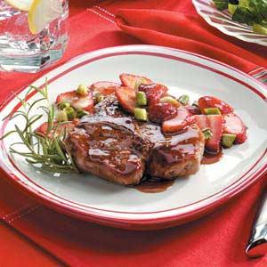 Strawberry Pork Chops Recipe