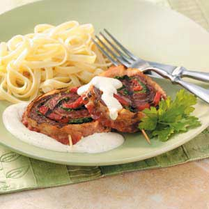 Flank Steak Pinwheels Recipe