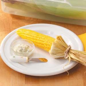 Grilled Marjoram Corn Recipe