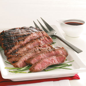 Easy Marinated Grilled Flank Steak Recipe