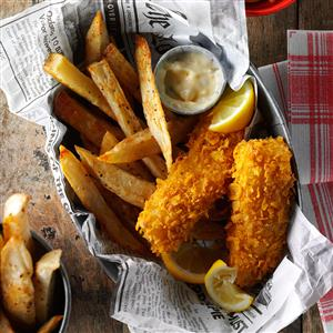 Fish and Fries Recipe