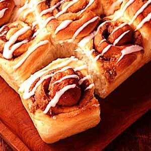 Cinnamon Potato Rolls Recipe
