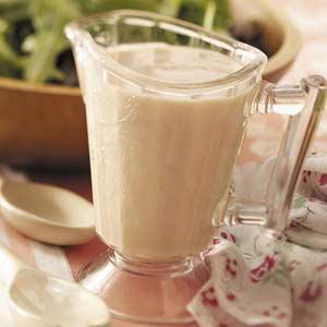 Mustard-Sour Cream Salad Dressing Recipe