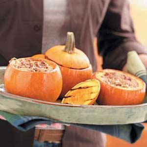 Gingered Pumpkin Custard Recipe
