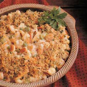 Bayou Country Seafood Casserole Recipe