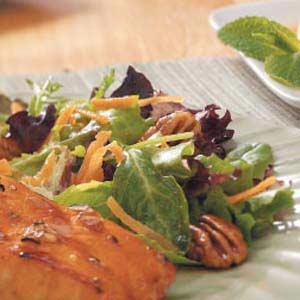 Nutty Green Salad Recipe