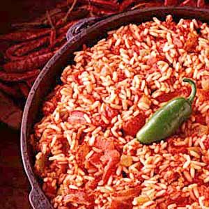 Spanish Rice Dish Recipe