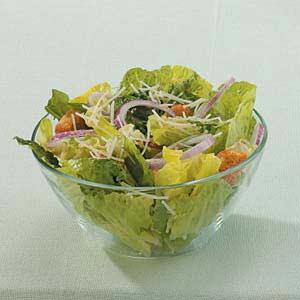 Lemon Garlic Caesar Salad Recipe