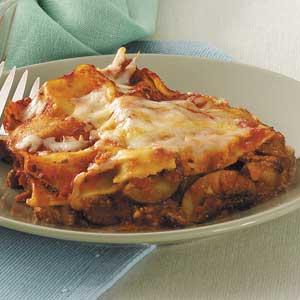 Zucchini Red Pepper Lasagna Recipe