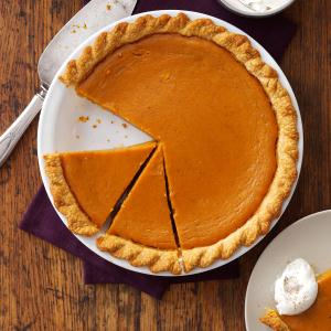 Maple Sugar Pumpkin Pie Recipe
