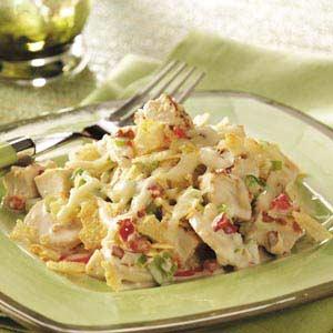 Crispy Hot Chicken Salad Recipe