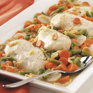 Tender Chicken Dinner Recipe