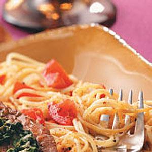 Tomato Pasta Side Dish Recipe