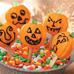 Pumpkin Cookie Pops Recipe