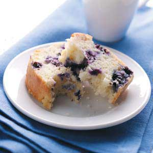 Contest-Winning Blueberry Quick Bread Recipe