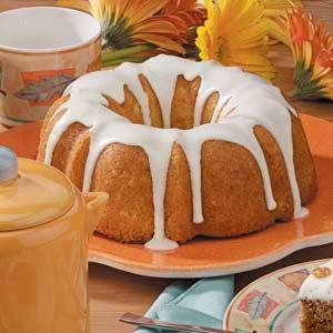 Orange Glazed Bundt Cake Recipe