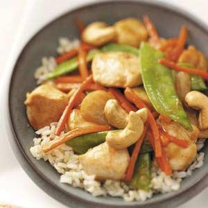 Cashew Chicken for Four Recipe
