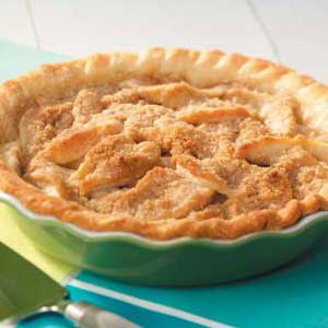 Pear Crumble Pie Recipe