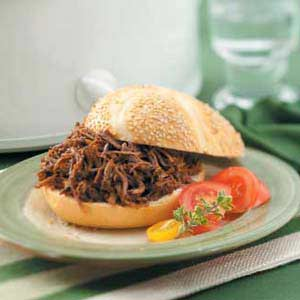 Texas Beef Barbecue Recipe Taste Of Home