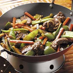 Colorful Beef Stir-Fry Recipe