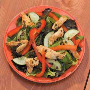 Spiced-Up Chicken Salad Recipe