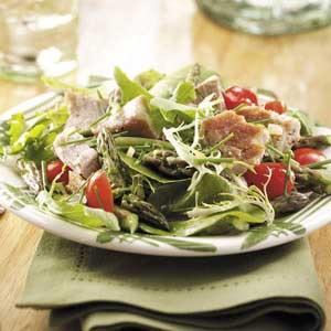 Tuna Steak Salad Recipe