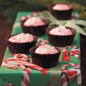 Mint-Mallow Chocolate Cups Recipe