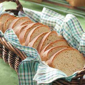 Golden Caraway Rye Bread Recipe