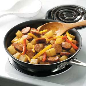 Polish Sausage and Veggies Recipe