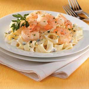 Shrimp Piccata Pasta Recipe