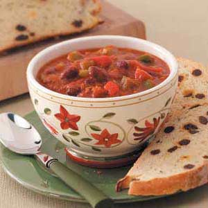 Spicy Hearty Chili