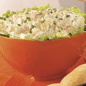 Contest-Winning Grandma's Potato Salad Recipe