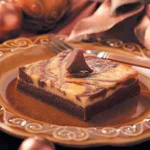 Chocolate-Marbled Cheesecake Dessert Recipe