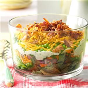 Layered Salad for a Crowd Recipe