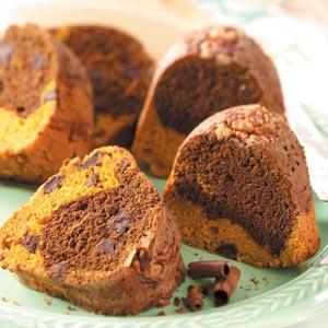 Chocolate Chip Pumpkin Cake Recipe