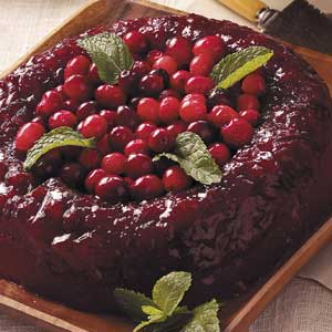 Applesauce-Berry Gelatin Mold Recipe