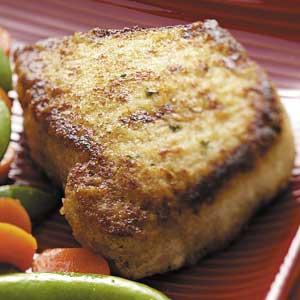 Orange Breaded Pork Chops Recipe