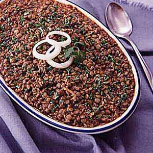 Ranch-Style Baked Lentils Recipe